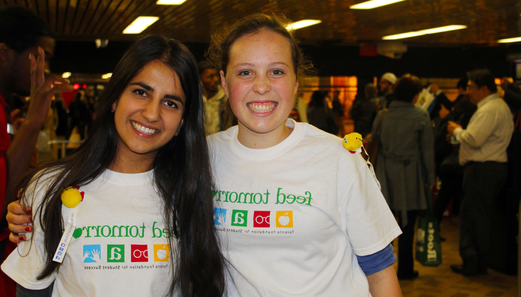 toronto foundation for student success - student volunteers