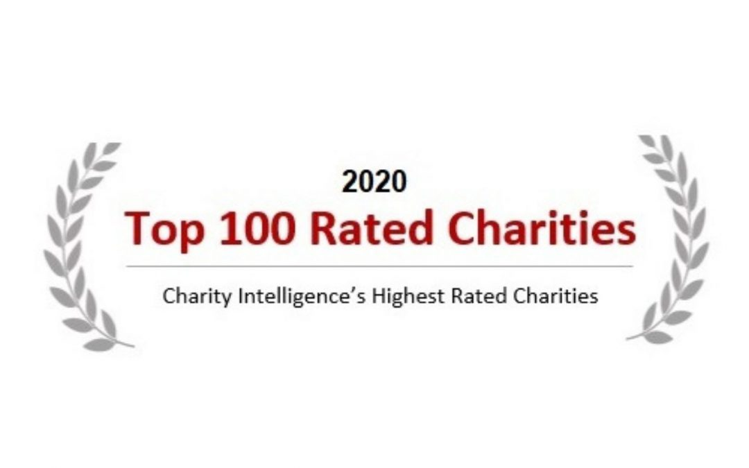 TFSS one of Charity Intelligence's Top 100 Charities in Canada